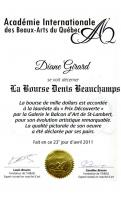 LA BOURSE DENIS BEAUCHAMPS