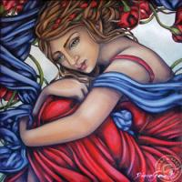 Belle romanceVENDU Huile,12 x 12po
